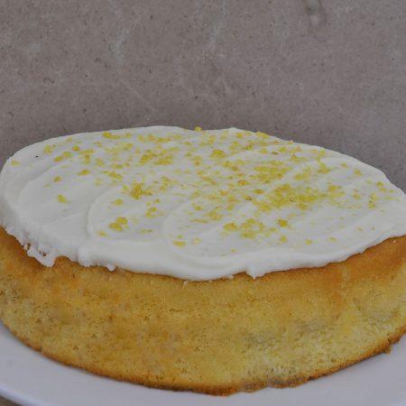 Lemon Sponge Cake by Lathams