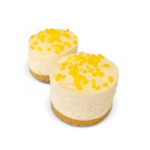 Lemon Cream Crunch Cake by Lathams of Broughton